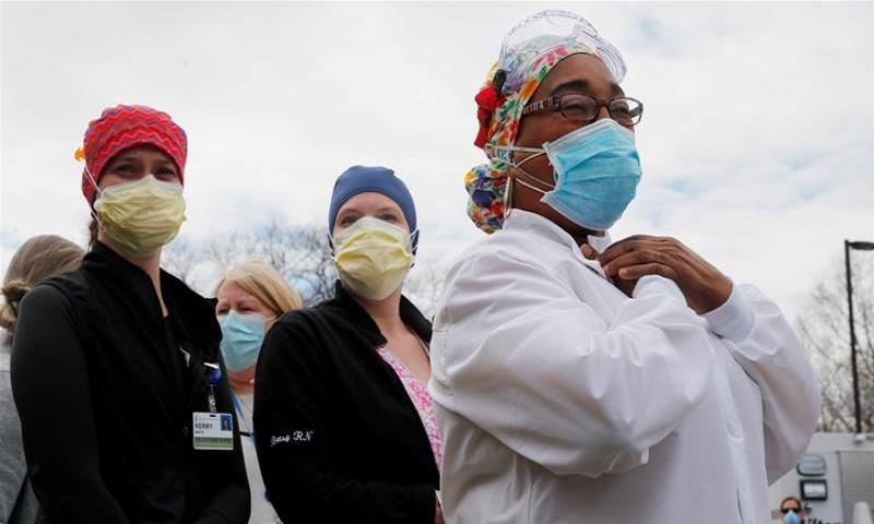Coronavirus: US death toll rises to 128,783
