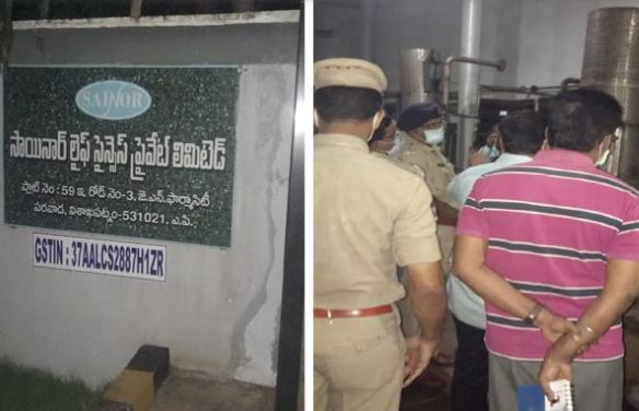2 dead, four injured as gas leaks at pharma company in Andhra Pradesh
