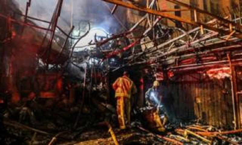Tehran clinic hit by deadly explosion, 19 killed