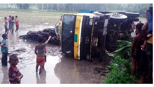 Road accident kills 4, injures 6 in Rangpur