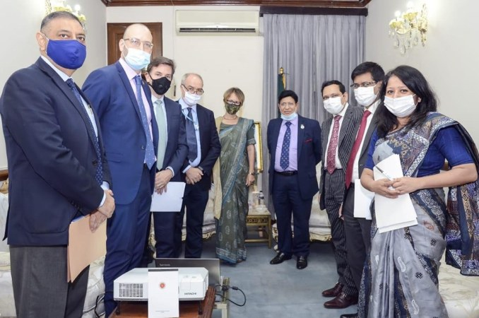 FM seeks UN's strong partnership in managing COVID-19 impact