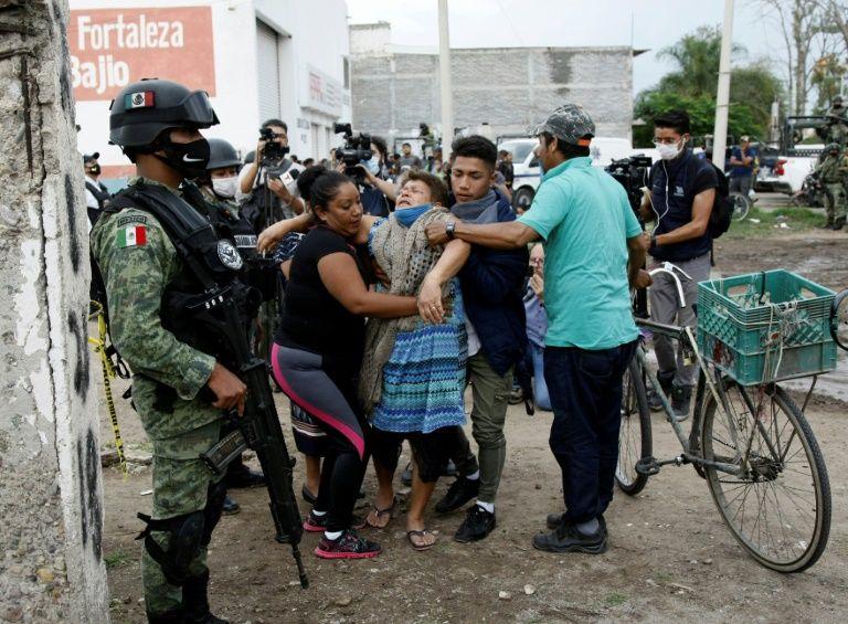 Gun attack leaves 24 dead in drug rehabilitation center in Mexico