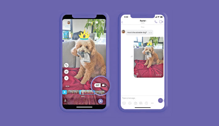 Viber launches GIF creator feature