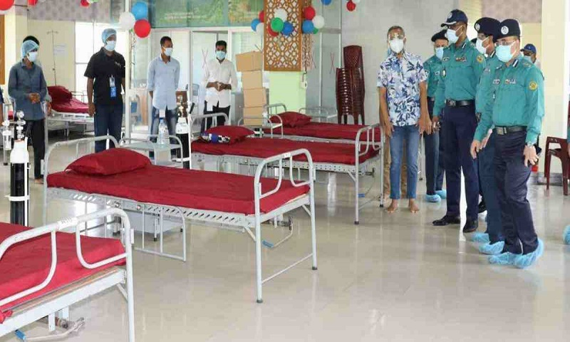 Corona hospital for poor patients starts journey in Chattogram
