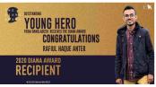 Bangladeshi youth honoured with 'The Diana Award'