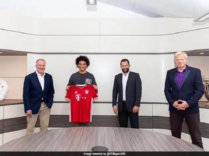 Bayern Munich confirm Leroy Sane signing from Man City