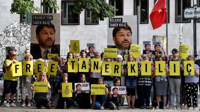 Two former Amnesty Turkey leaders convicted on terror charge