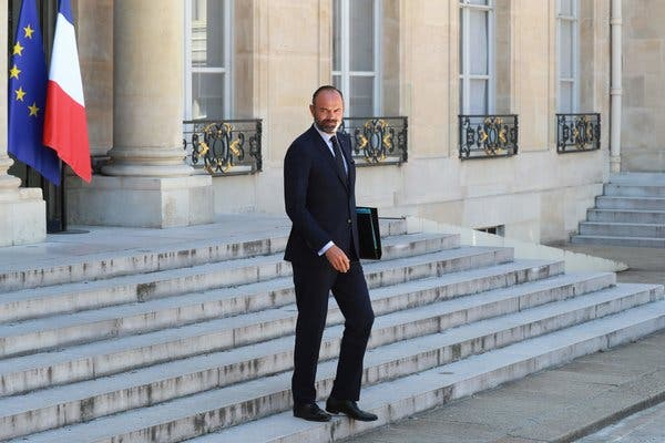 French Prime Minister Edouard Philippe, his government resign