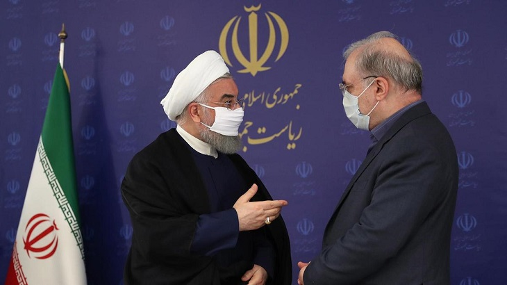 Iran's Rouhani calls for mask order to be enforced