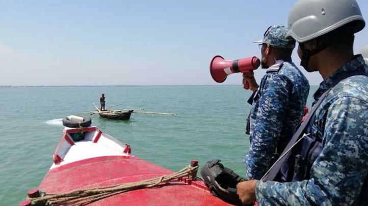 Navy members working hard to fight corona