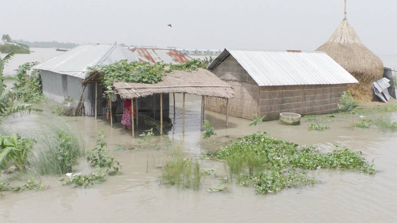 Flood may remain steady in five districts, improve in eight