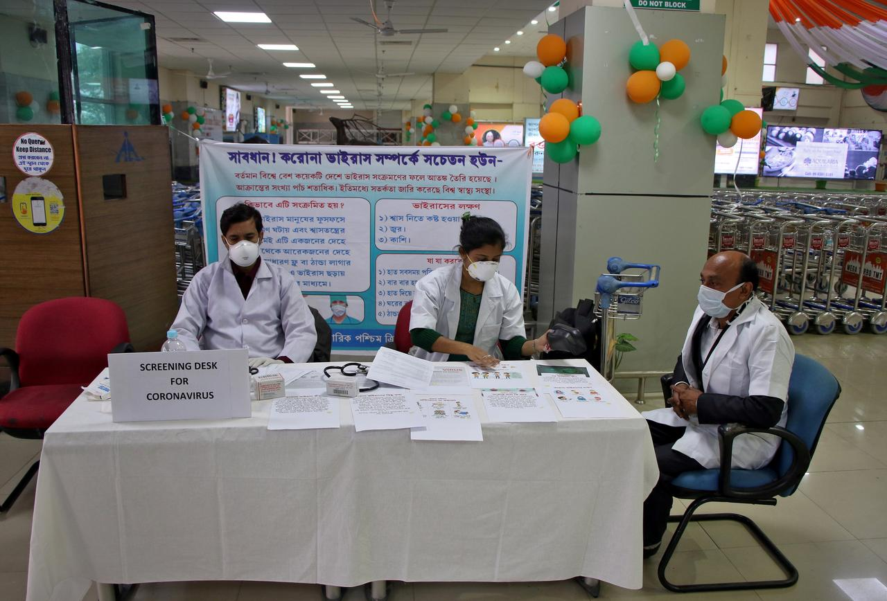 India records biggest one-day jump of 24,850 Covid-19 cases, 613 deaths