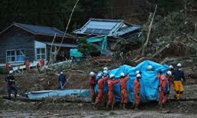 15 feared dead in flooded Japanese care home