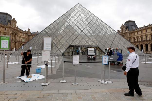 France's Louvre museum reopens