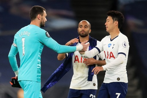 Son clashes with Lloris as Spurs beat Everton