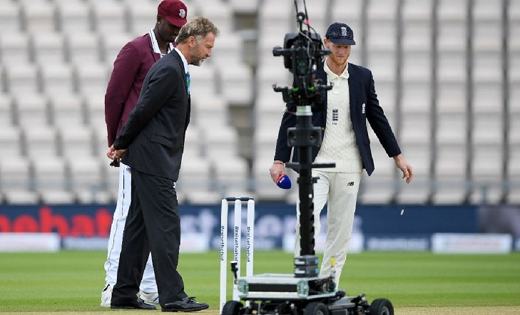 Cricket returns as England bat in first Test against West Indies
