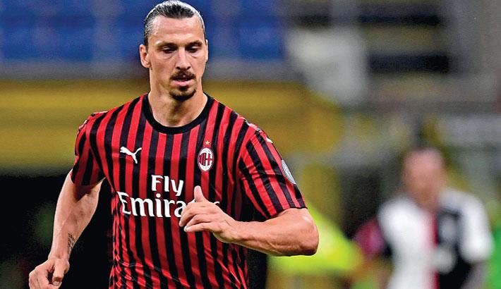 Zlatan goal Milan comeback
