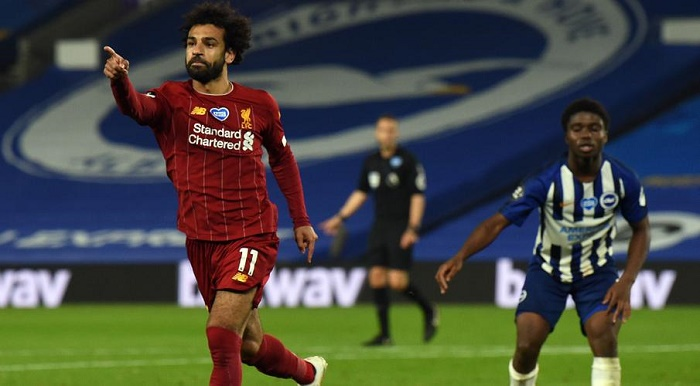 No 'softening' from Liverpool as Salah keeps record chase on track
