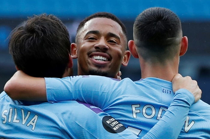 Man City hit Newcastle for five, Wolves beaten by Sheffield Utd