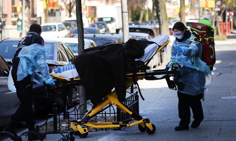 Coronavirus: US death toll reaches 135,828