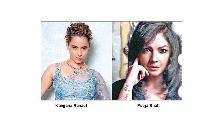 Kangana lashes out at  Pooja Bhatt's 'Nepotism'