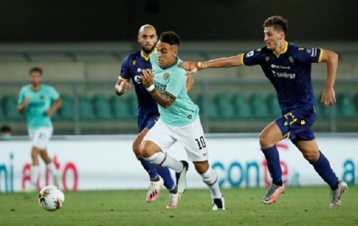 Late strike forces Inter Milan to share points
