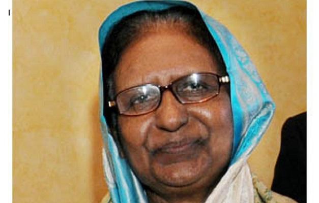 Former home minister Sahara Khatun no more