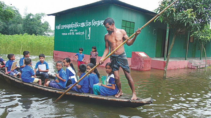 Schools, colleges to be used as shelter centers during flood