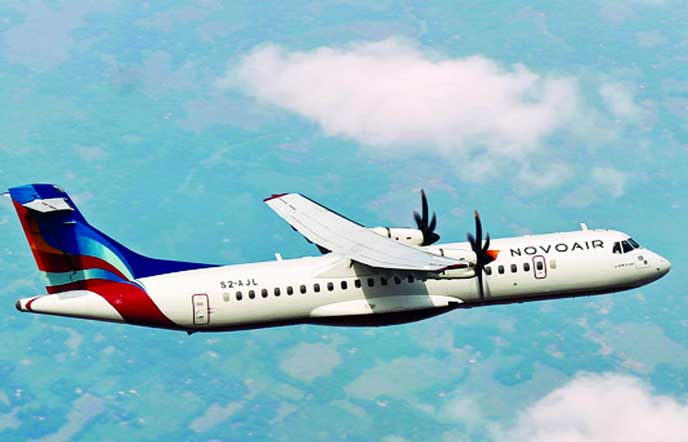 NOVOAIR to start flights to Barishal from Sunday
