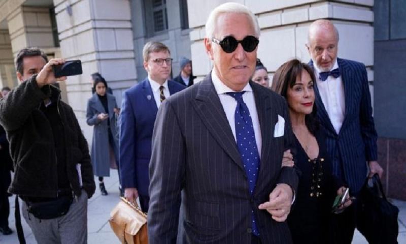 Roger Stone: Trump commutes ex-adviser's sentence