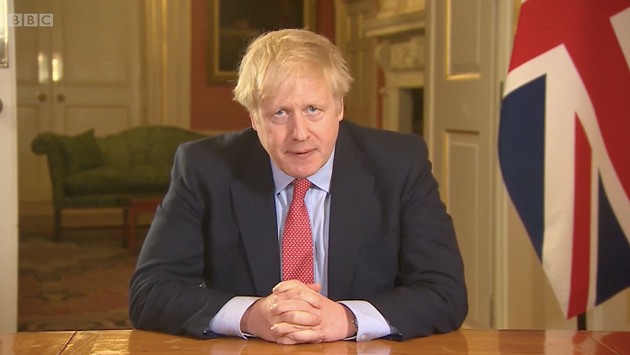 Boris Johnson calls on public to return to work