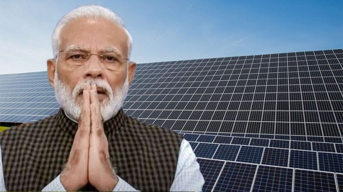Modi launches Asia's largest solar plant in Madhya Pradesh