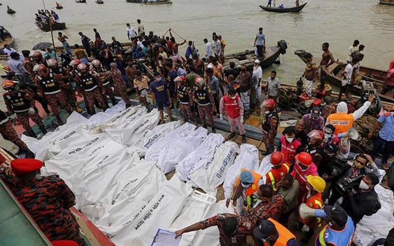 Buriganga launch capsize: Mayur-2 master arrested