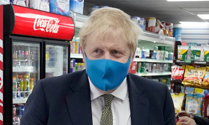Face masks 'should be worn' in UK shops: Johnson