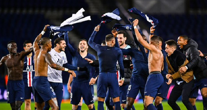 'Victory for French football' as fans return and witness 9-0 PSG rout