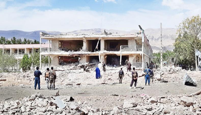 Taliban car bomb attack on Afghan intel office kills 11