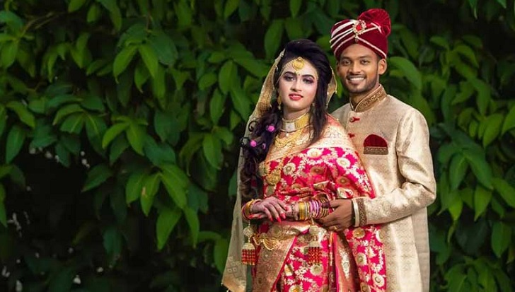 National team cricketer Nazmul Hossain Shanto ties the knot
