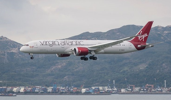 Virgin Atlantic airline says lands £1.2bn rescue deal