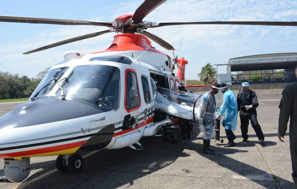 PSTU VC, his wife airlifted to Dhaka for Covid-19 treatment