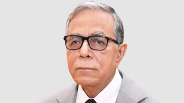 President mourns death of freedom fighter, ex-minister Shajahan Siraj
