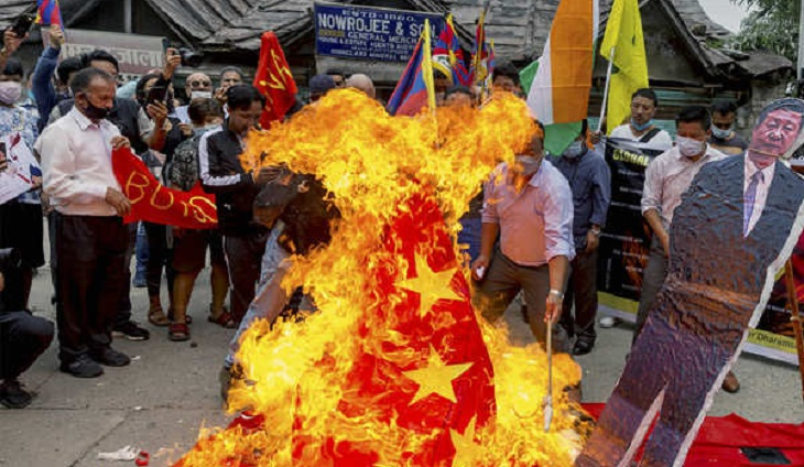 North America witness relentless anti-China protests launched by Tibetans