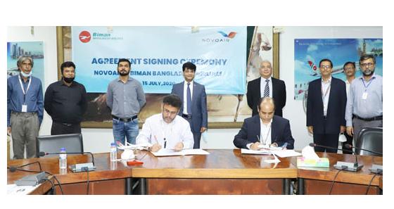 Biman, Novoair sign deal to carry each other's passengers
