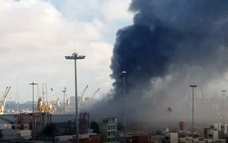 Fire at Chattogram port shed under control