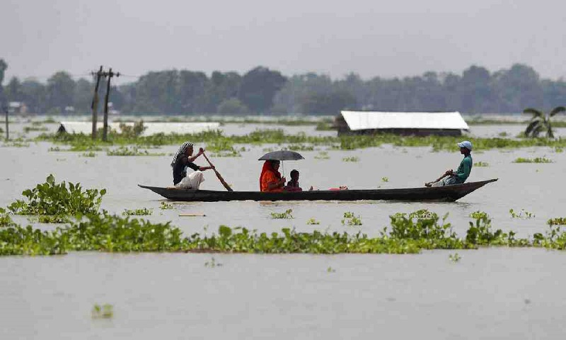 Floods and mudslides in Assam: Death toll climbs to 77