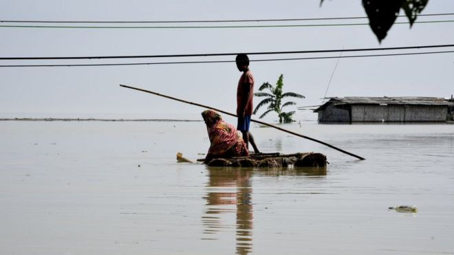 Fifty dead and two million hit by India monsoon floods