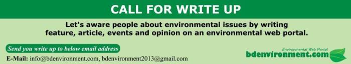Environmental 'Writing Contest 2020' launched