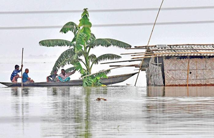 Flood situation deteriorates at places in Brahmaputra basin