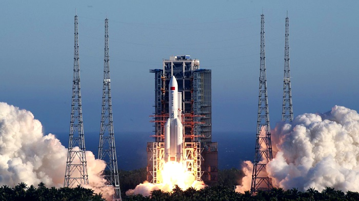 China to launch Mars probe in space race with US