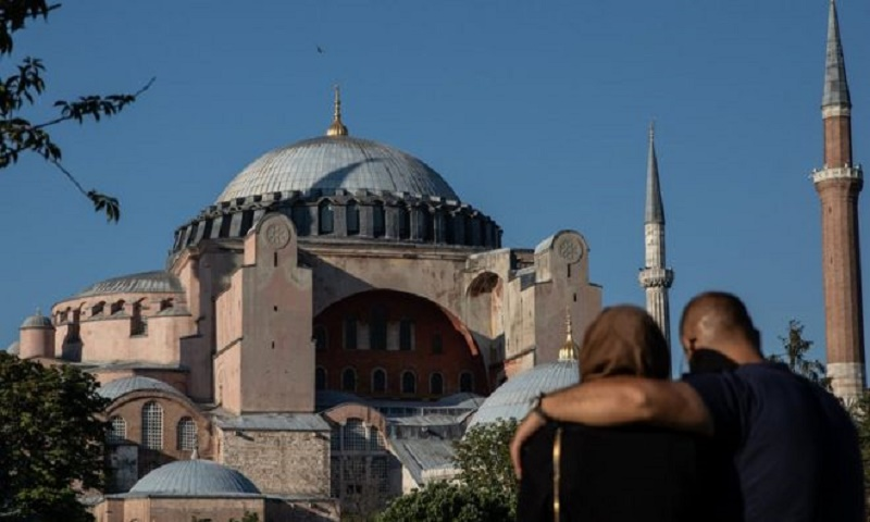 Hagia Sophia: Former Istanbul museum to open for Muslim worshippers