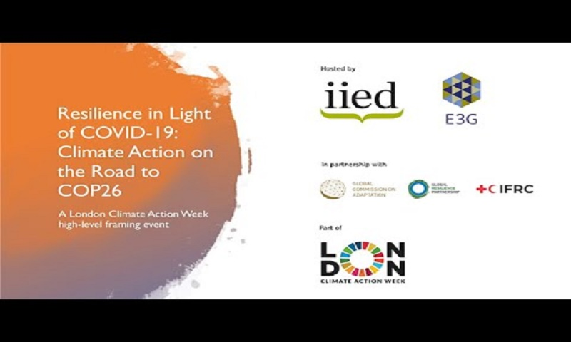 Resilience in Light of COVID-19: Climate Action on Road to COP26